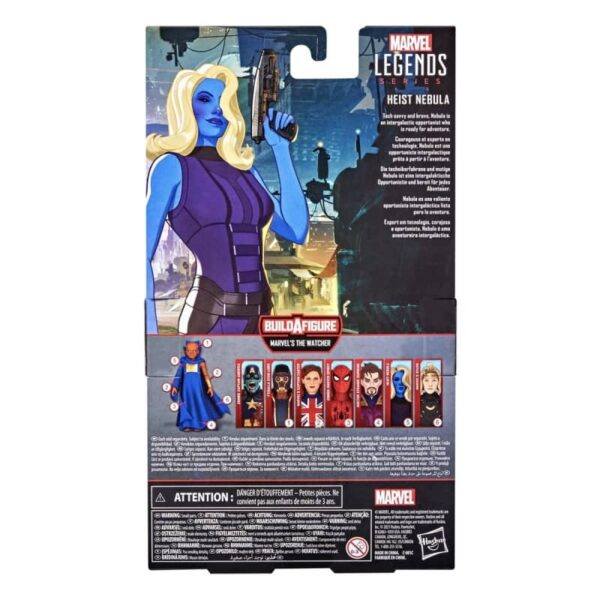 Marvel Legends What If Watcher BAF Heist Nebula 6