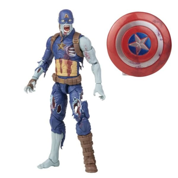 Marvel Legends What If Watcher BAF Zombie Captain America 4