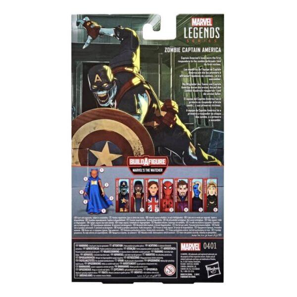 Marvel Legends What If Watcher BAF Zombie Captain America 6