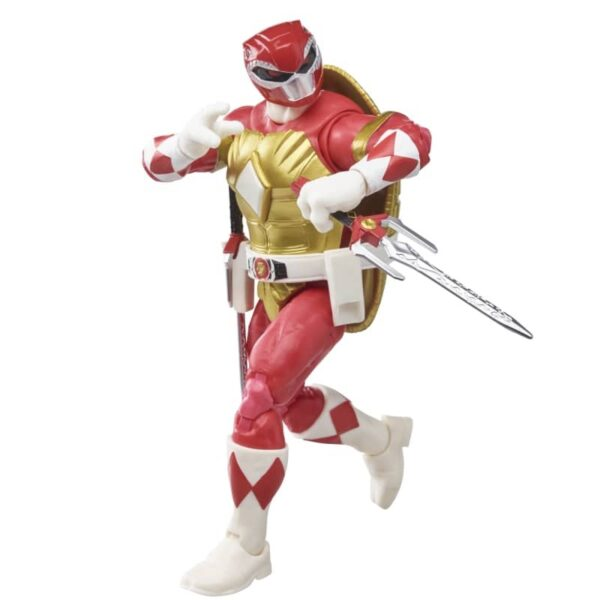 Power Rangers X Teenage Mutant Ninja Turtles Lightning Collection Morphed Raphael and Foot Soldier Tommy 3