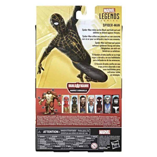 Spider Man 3 Marvel Legends Armadillo BAF Wave 1 Set of 7 12 3