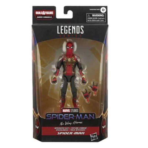 Spider Man 3 Marvel Legends Armadillo BAF Wave 1 Set of 7 6 3