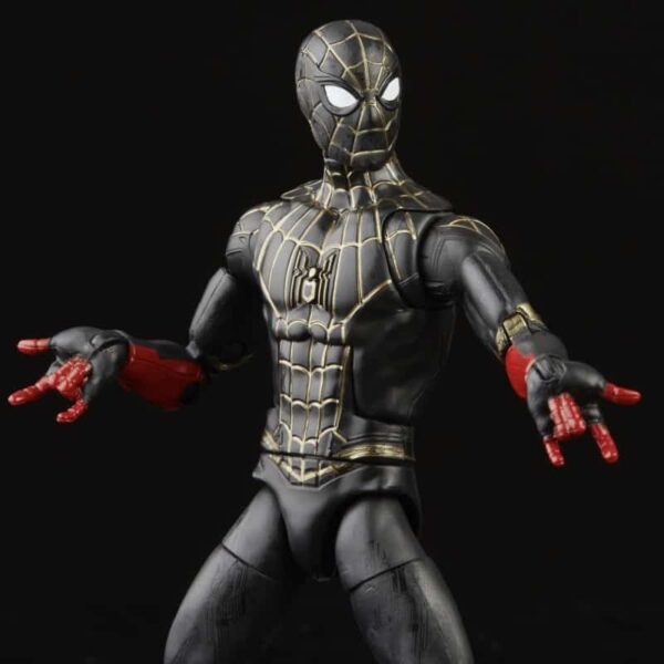 Spider Man 3 Marvel Legends Armadillo BAF Wave 1 Set of 7 9 2