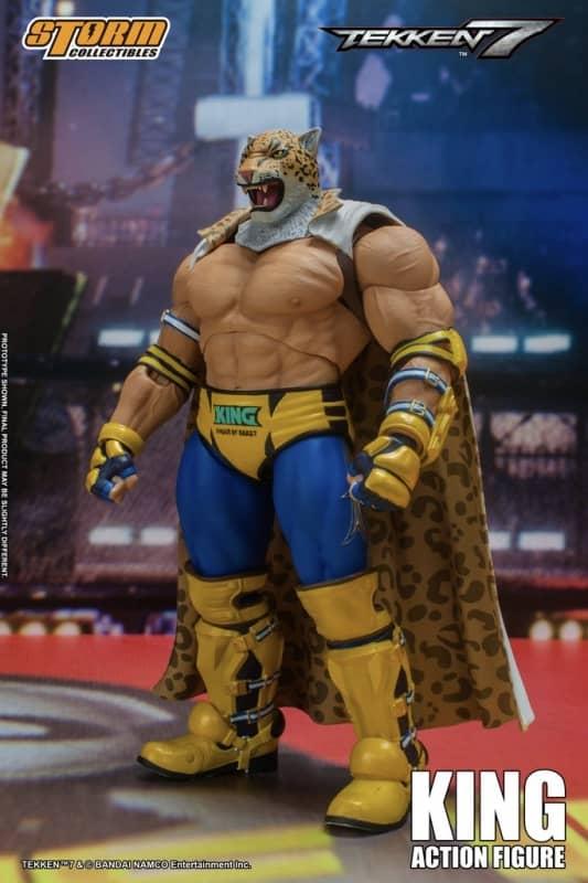 Tekken 7 King 112 Action Figure 4