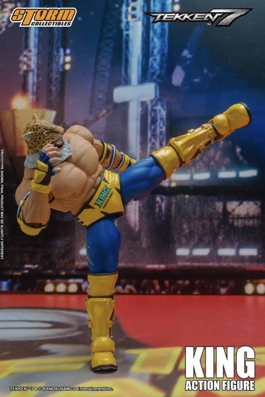 Tekken 7 King 112 Action Figure 6
