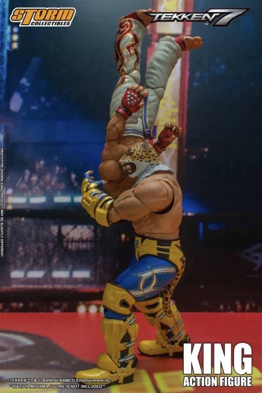 Tekken 7 King 112 Action Figure 9