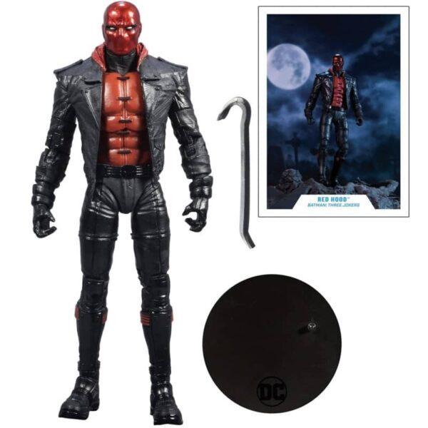 DC Multiverse Batman Three Jokers Red Hood Action Figure 7
