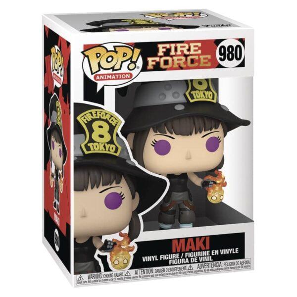 Fire Force Maki Funko
