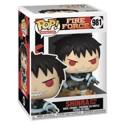 Fire Force Shinra With Fire Funko