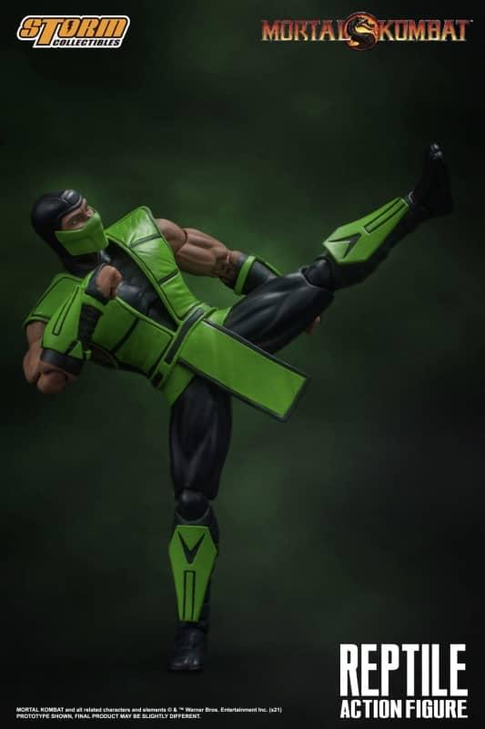 Mortal Kombat Reptile 112 Action Figure 10