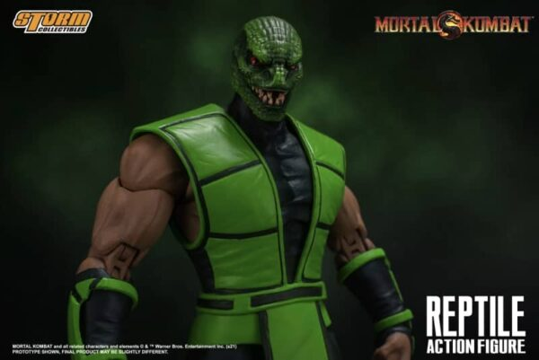 Mortal Kombat Reptile 112 Action Figure 14