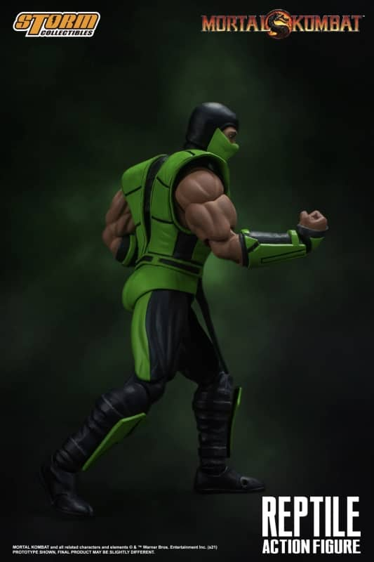 Mortal Kombat Reptile 112 Action Figure 5