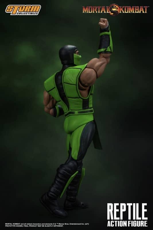 Mortal Kombat Reptile 112 Action Figure 7