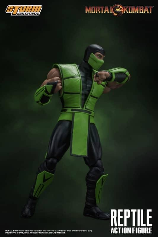 Mortal Kombat Reptile 112 Action Figure 8