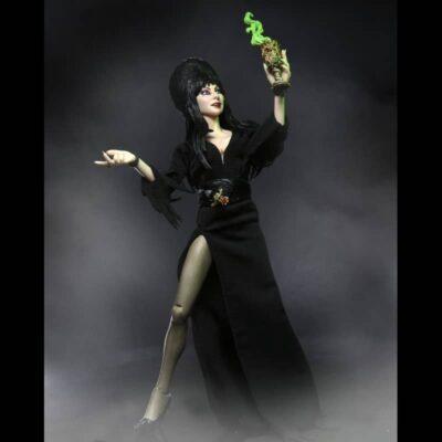 Elvira 8 inch clothed Figure