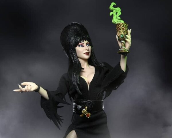 Elvira 8 inch clothed Figure 6