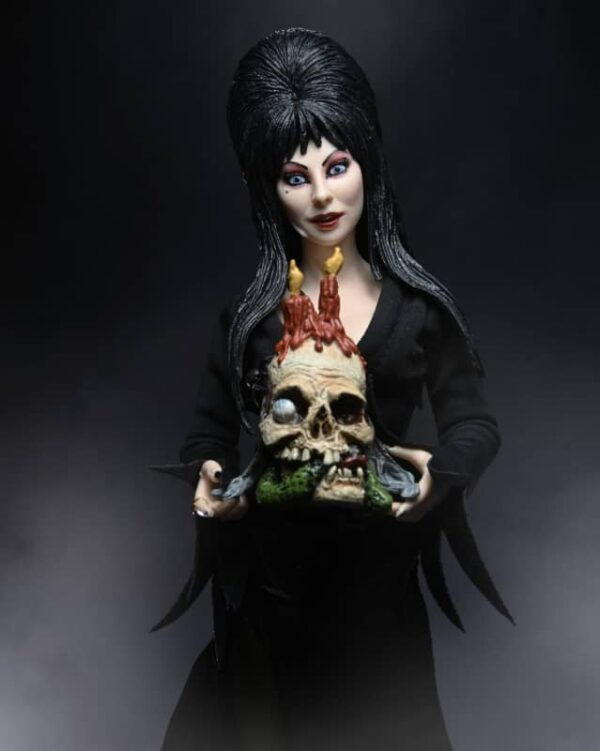 Elvira 8 inch clothed Figure 8