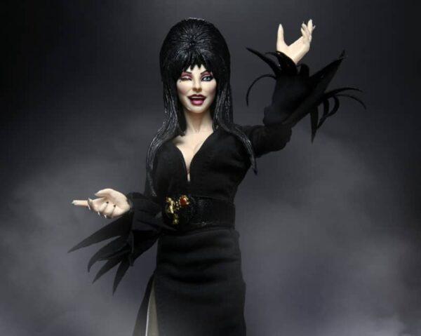 Elvira 8 inch clothed Figure 9