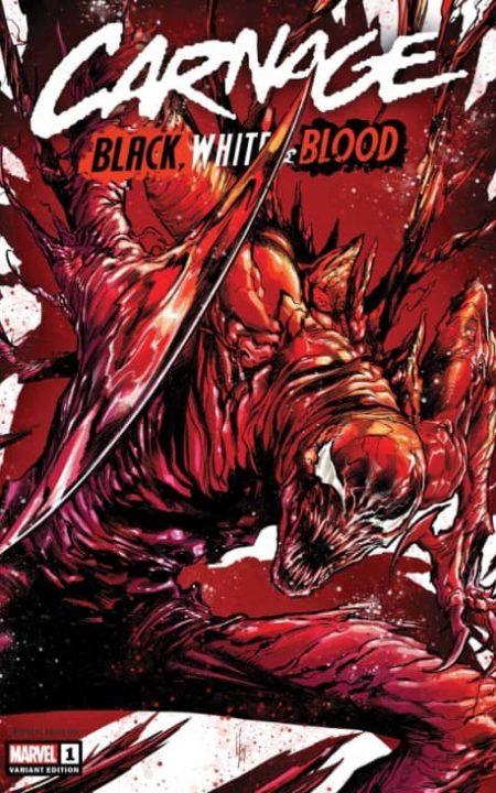 Carnage Black, White & Blood 1 Checchetto