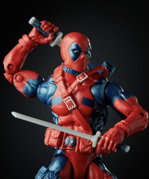 Marvel Legends Retro Deadpool Action Figure 80th anniversary 3
