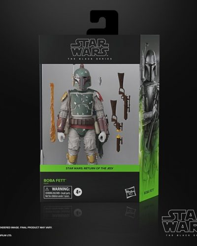 Star Wars The Black Series Boba Fett Deluxe 6-Inch Action Figure 6